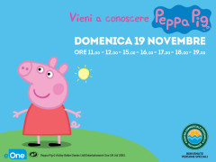 Peppa Pig al Centro Commerciale Ipersimply Grottammare