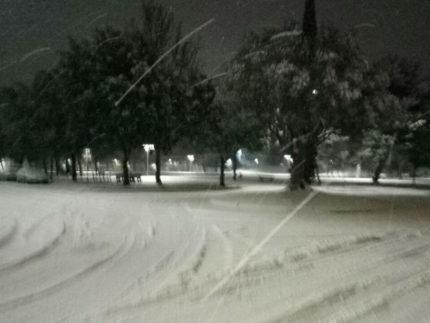 Neve a Senigallia