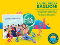 Lorenzo Baglioni al Centro Commerciale Ipersimply Grottammare