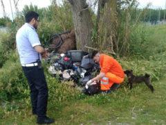 Abbandono rifiuti: controlli a Porto Sant'Elpidio