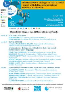 PA Social Day - programma