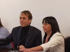 Andrea Cangini e Jessica Marcozzi