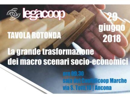Tavola rotonda di Legacoop Marche
