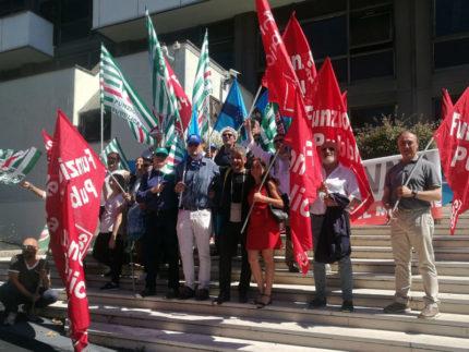 Lavoratori della sanità, manifestazione