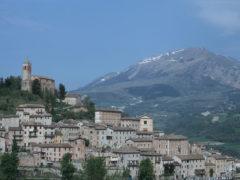 Veduta di Montefortino