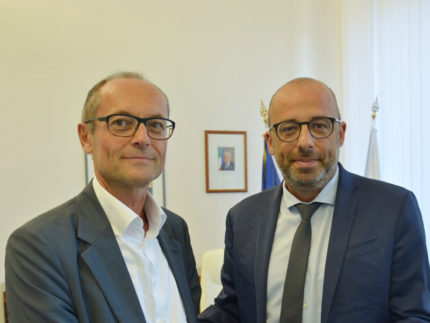 Sergio Sottani e Antonio Mastrovincenzo