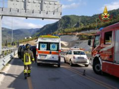Incidente stradale a Genga