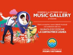 Music Gallery all'Ipersimply Grottammare