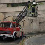 Intervento dei Vigili del Fuoco a Macerata