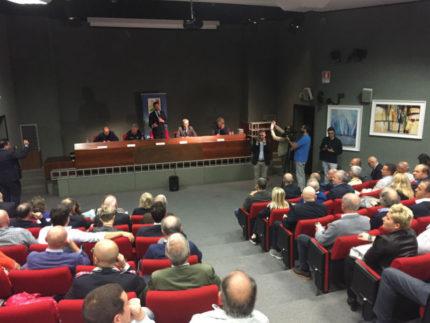 Borrelli e Farabollini, ospiti di Anci Marche, incontrano i sindaci