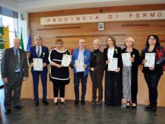 Riconoscimenti dalla Provincia di Fermo ai nuovi maestri del lavoro