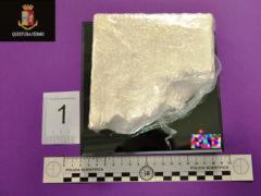 Cocaina sequestrata dalla Polizia di Fermo