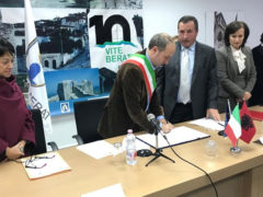 Rinnovato in Albania il gemellaggio fra le Città di Fermo e di Berat