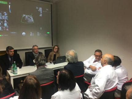 Luca Ceriscioli al centro unico di diagnosi prenatale a Loreto