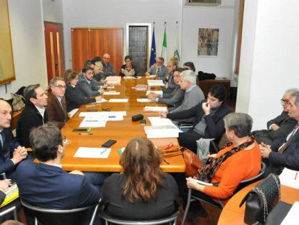 Tavolo di lavoro della Regione Marche sulle barriere antirumore di Rfi