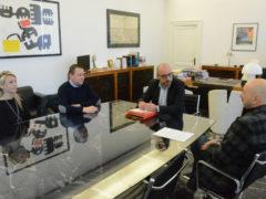 Incontro tra Antonio Mastrovincenzo e i segretari del Siulp sul declassamento della Questura di Ancona