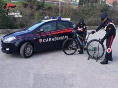 Ritrovamento da parte dei Carabinieri di diverse biciclette rubate