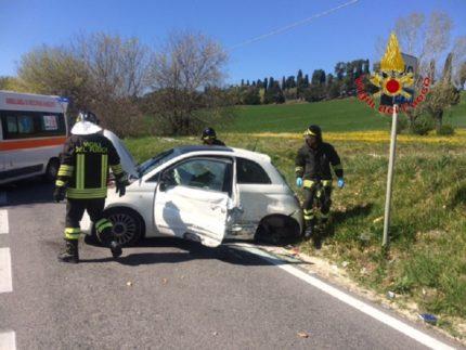 Incidente stradale a Treia