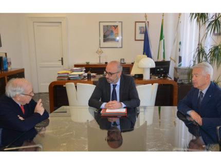 Antonio Mastrovincenzo, Luciano Orlandini e Iridio Mazzucchelli