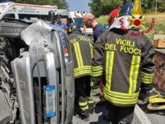 Incidente stadale a Castelfidardo