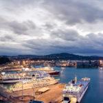Veduta del porto di Ancona