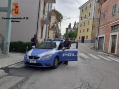 Intervento della Polizia a Osimo