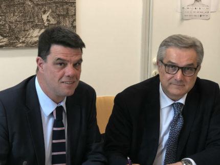Boris Rapa e Renato Claudio Minardi