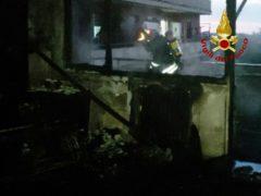 Incendio all'Hotel House di Porto Recanati