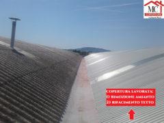Bonifica amianto e rifacimento di nuove coperture operato da MC Coperture
