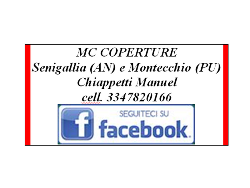 MC Coperture di Chiappetti Manuel a Senigallia e Montecchio