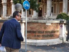 Nicola Loira a Roma al Ministero delle Infrastrutture e dei Trasporti