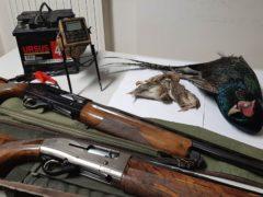 Sequestro operato nei confronti di due cacciatori