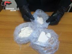 La cocaina sequestrata