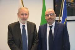 Seduta aperta del Consiglio regionale con il Rabbino capo della Comunità ebraica di Roma, Riccardo Di Segni.