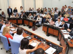 consiglio comunale a Pesaro