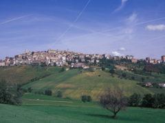 Veduta di Montegranaro
