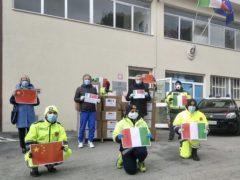 Mascherine donate dalla Cina alla città di Recanati