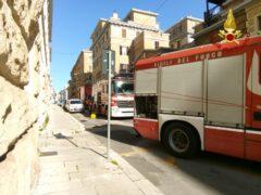 Intervento ad Ancona dei Vigili del Fuoco