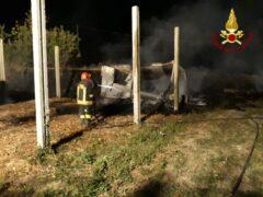 Incendio a Osimo