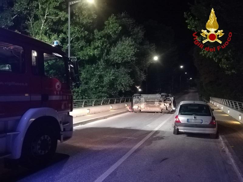Incidente stradale a Sassoferrato