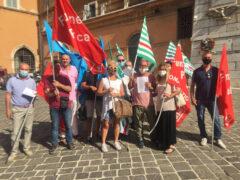 Ancona, presidio lavoratori sanità privata