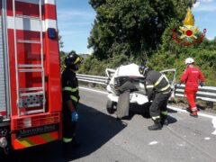 Incidente lungo la SS77