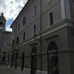Riqualificazione operata da ditta Marinelli Sisto srl a Senigallia su edificio storico tra via dei Commercianti e corso II Giugno
