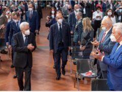 Sergio Mattarella aI Festival Nazionale dell'Economia Civile di Firenze
