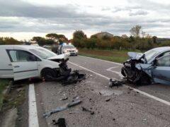 Incidente stradale a Macerata