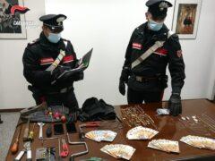 Arresti per furti in abitazione