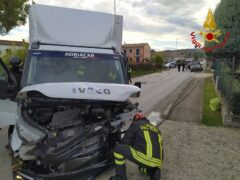Incidente stradale a Montelupone