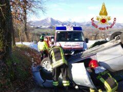 Incidente stradale a Matelica