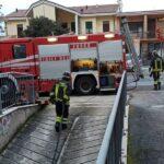 Incendio di un garage a Macerata