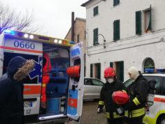Vigili del fuoco a Morro d'Alba
